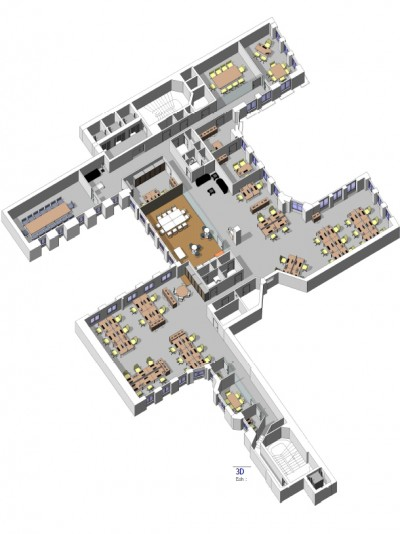 Plan 3D GPM Office